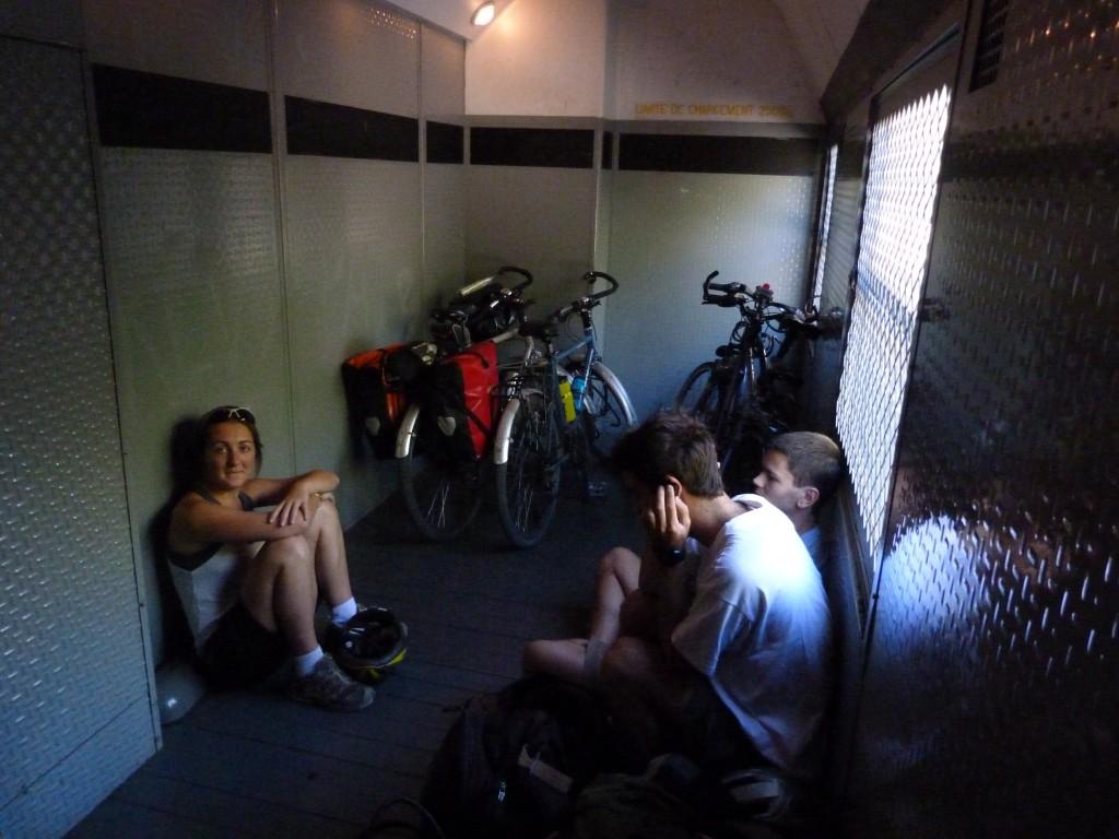 Pour transporter des vélos, rien de tel qu'un TER.... sauf quand il est plein!