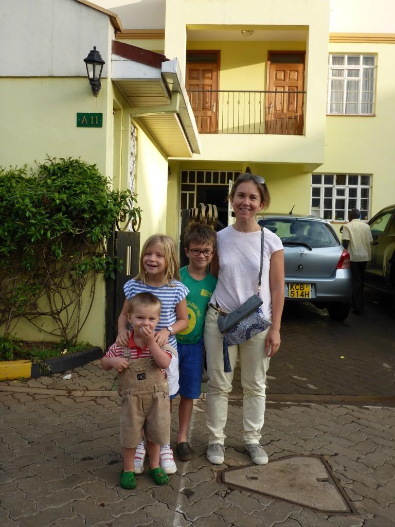 Et bien sût, nos remerciements pour l'accueil si naturel et chaleureux de Gwenaëlle, Damien et leurs trois enfants.