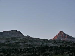 Pic d'Anie et lumière du matin