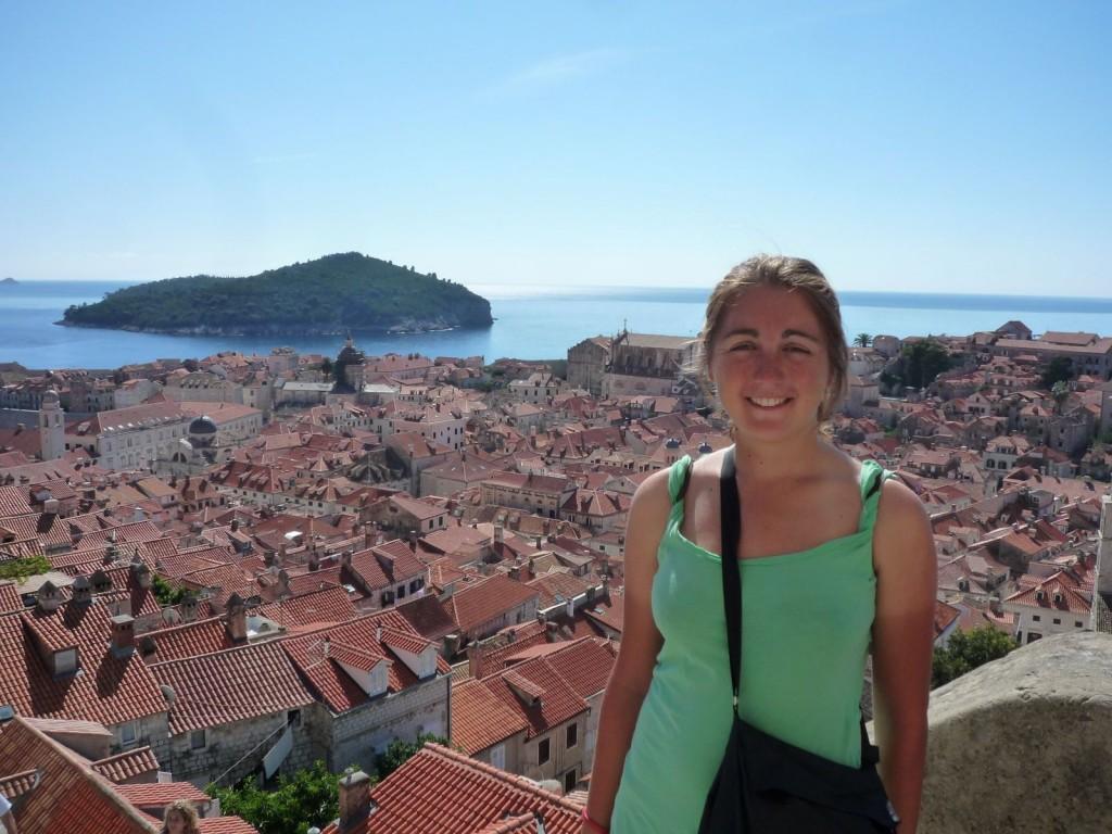 Croatie - les toits de Dubrovnik
